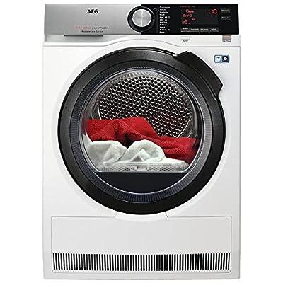 AEG AbsoluteCare T8DSC869C Heat Pump Condnser Tumble Dryer - White