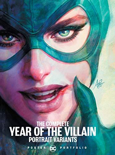 DC Poster Portfolio: The Complete Year of the Villain Portrait Variants