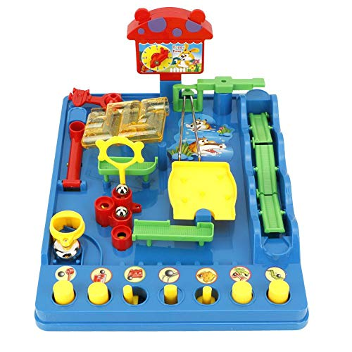 Zerodis Kinder Intellektuelle Wasserpark Spielset Puzzle Labyrinth Spielzeug Tisch Desktop Spiel Erwachsene Kinderspielzeug