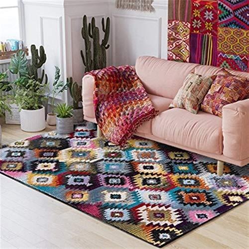Marruecos Diseño de alfombras y alfombras para la sala de estar Dormitorio Pasillo Felpudo antideslizante Baño Alfombra decorativa Alfombras de cocina para el piso ( Color : Carpet4 , Size : 40x60cm )