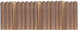 LPYMX picket fence Picket fence, lawn edge, flowerbed edge, garden border picket fencing (Color : A, Size : 30 * 100cm)