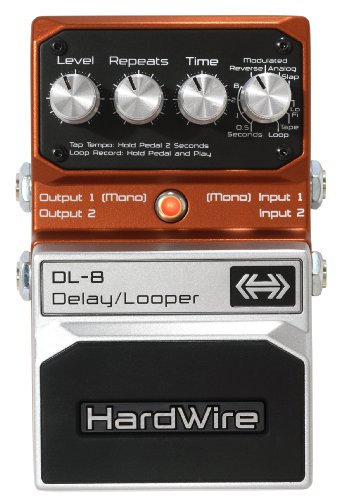 DigiTech DL-8 HardWire Delay/Looper Extreme-Performance Pedal