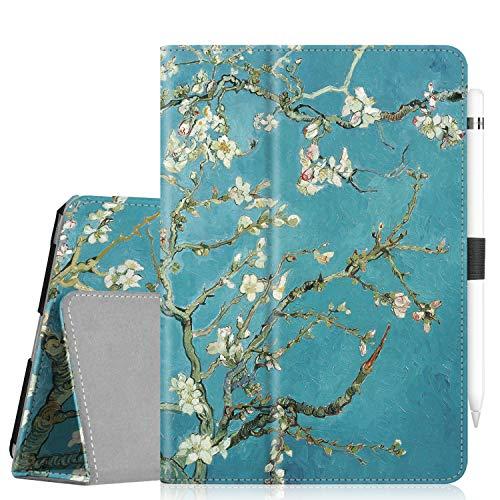 Fintie Case for iPad Mini 5 (2019) / iPad Mini 4 - [Corner Protection] PU Leather Folio Stand Cover with Pencil Holder, Auto Sleep/Wake for New iPad Mini 5th Generation/iPad Mini 4, Blossom