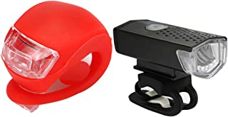 USB Ultra Bright Bike Light Set Front Rear Lamp Farol Lanterna Lanterna Traseira
