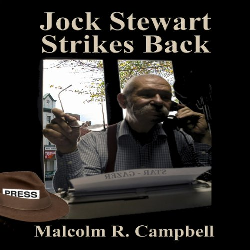 Jock Stewart Strikes Back audiobook cover art