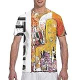 Yang David Byrne American Utopia - Camiseta de manga corta para hombre, negro, Small