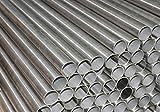 Tubo redondo de acero inoxidable. Diámetro = 42,4x 2mm (20–500cm).