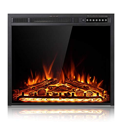 Xbeauty 30 Inch Electric Fireplace Insert, Infrared Electric Fireplace,...