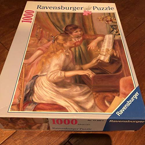 ルノアール「ピアノに寄る少女たち」1000ピースパズル
