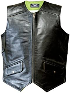Missing Link Men's D.O.C. Reversible Safety Vest (Black/HiViz Green, Small)