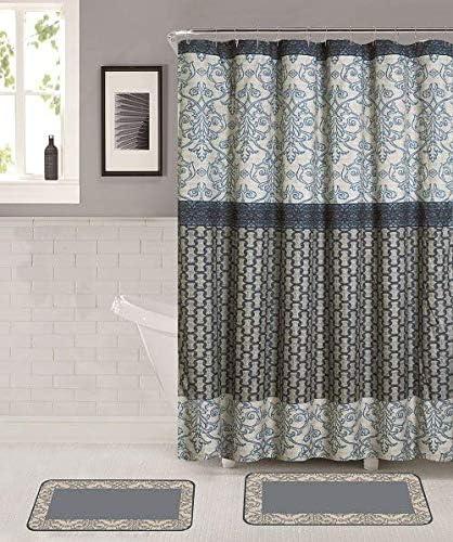 Amazon.com: Memory Foam Bathroom Mat Rug Set with Matching Shower