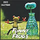 Funny Frogs Calendar 2022: 2021-2022 Frogs Weekly & Monthly Planner | 2-Year Pocket Calendar | 19 Months | Organizer | Agenda | Appointment | For Funny Frogs Lovers