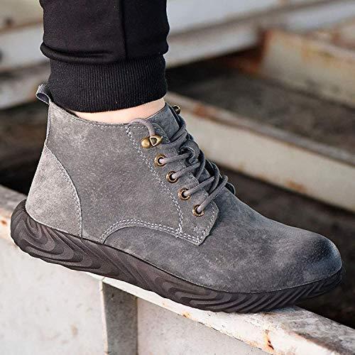 scarpe da ginnastica uomo ducati LBHH Scarpe Antinfortunistiche puntali in Acciaio Stivali Scarpe da Ginnastica Leggere di Sicurezza Scarpe da Lavoro Impermeabili