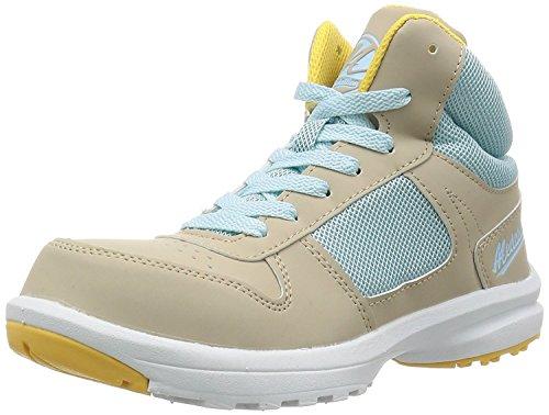 [マルゴ] 安全靴 作業靴 レディース 樹脂先芯 軽量 踵衝撃吸収 メダリオンセーフティー 508 BG 25 cm
