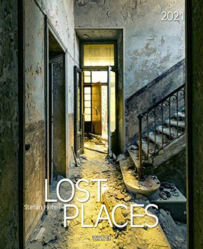 Lost Places 2021: Foto-Wandkalender von verlassenen Orten. Format 36 x 44 cm.