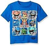 Power Rangers Little Boys Short-Sleeved Tee, Royal, 4