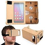 DURAGADGET Gafas de Realidad Virtual VR para Smartphone BQ Aquaris X5 Plus