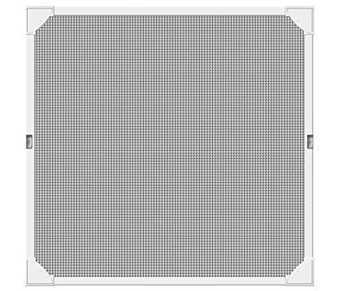 Schellenberg 50747 con perfiles de plástico muy flexibles, 120 x 120 cm, Blanco