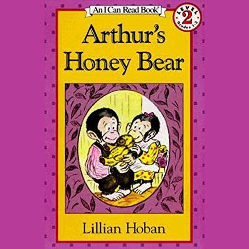Arthur's Honey Bear audiobook cover art