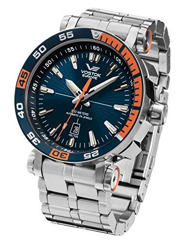 Vostok Europe NH35A-575A279b Relojes Automáticos Relojes de Buceo Relojes de Cuerda Manual Relojes Mecánicos