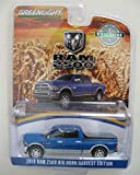Greenlight 2018 Dodge Ram 2500 Big Horn Pickup Truck New Holland Blue Harvest Edition Hobby Exclusive 1/64 Diecast Model Car by