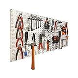 Panneaux muraux de rangement pour outils + crochets