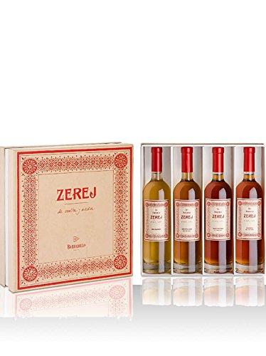 Estuche 4 Vino Blanco - Zerej - Fermentado, Manzanilla Amontillada, Oloroso, Palo Cortado - D.O. Jerez - Bodegas Barbadillo