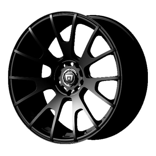Motegi Racing MR118 Matte Black Finish Wheel (17x8'/5x4.5')
