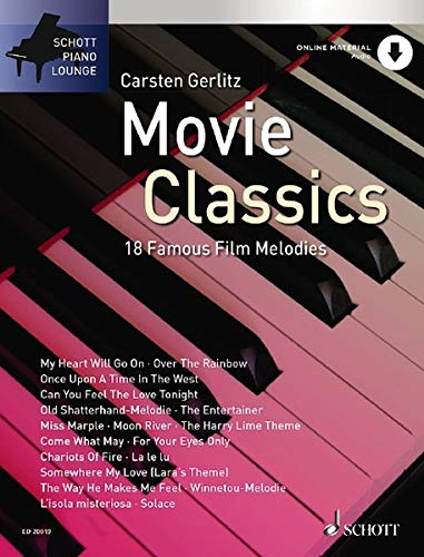 Movie Classics 1: 18 bekannte Filmmelodien. Klavier. Ausgabe mit CD.: This Volume in the Series