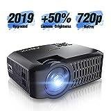 ABOX Vidéoprojecteur Natif 720p Mini Projecteur LED Support Full HD 1080p 176 Pouces...