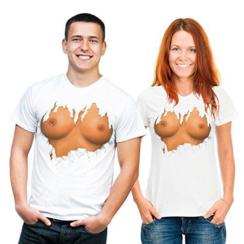 Brüste - T-Shirt L - T-Shirt M