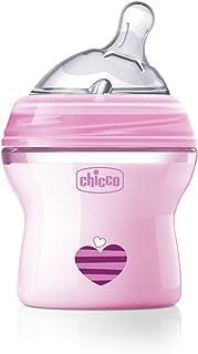 Chicco 0008081110000 Biberon Natural Feeling 0Mesi+ Bimba 150 ml Transparent