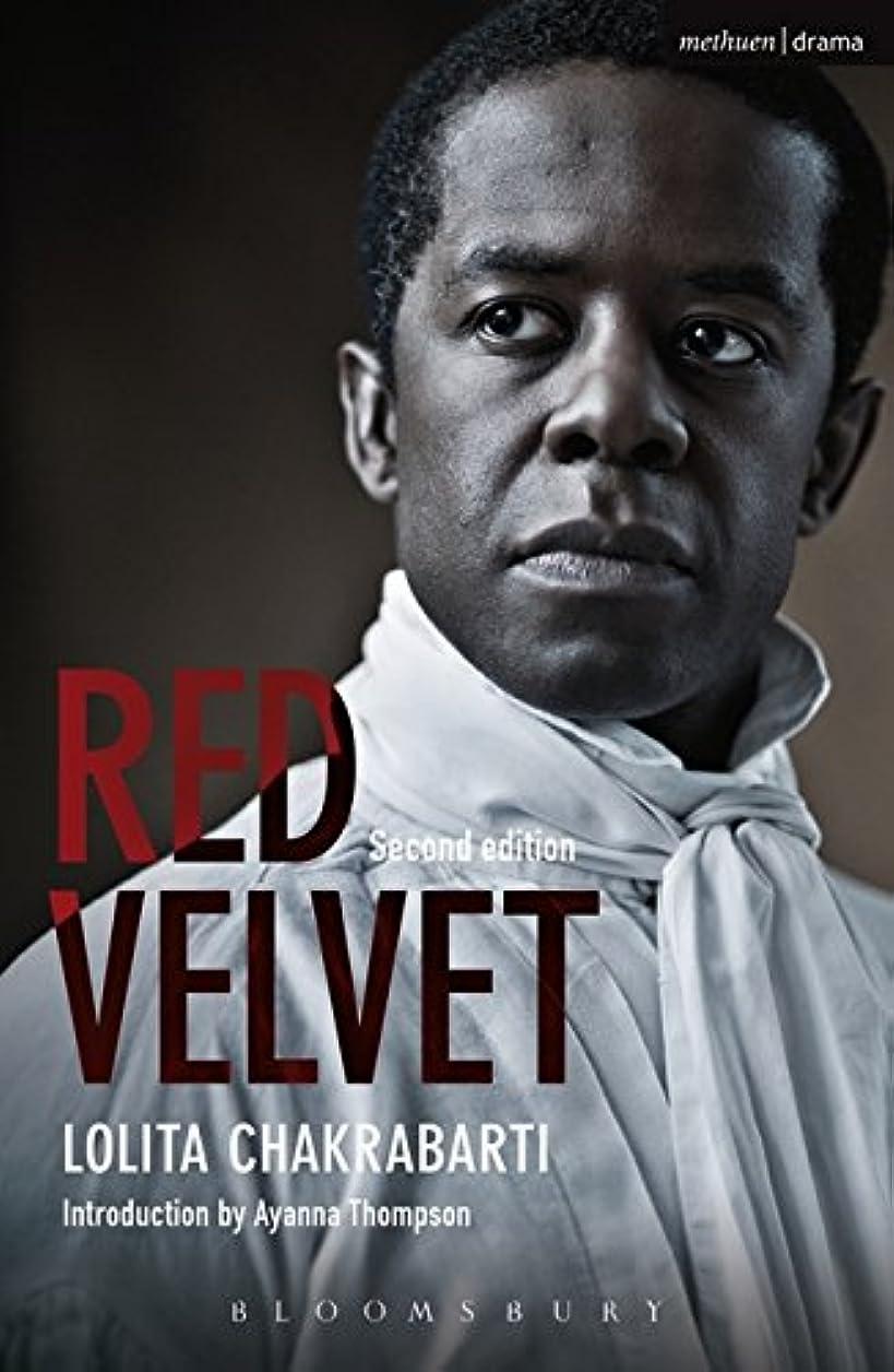 矢じり靴強要Red Velvet (Methuen Drama Modern Plays)