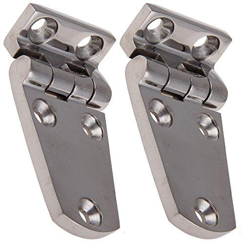 Bisagras de acero inoxidable 2Prisma de esquina 70x 37mm Acero Inoxidable Bisagra...