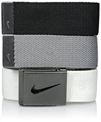 3 web straps one buckle One size fits all up to 42 2 percent zinc