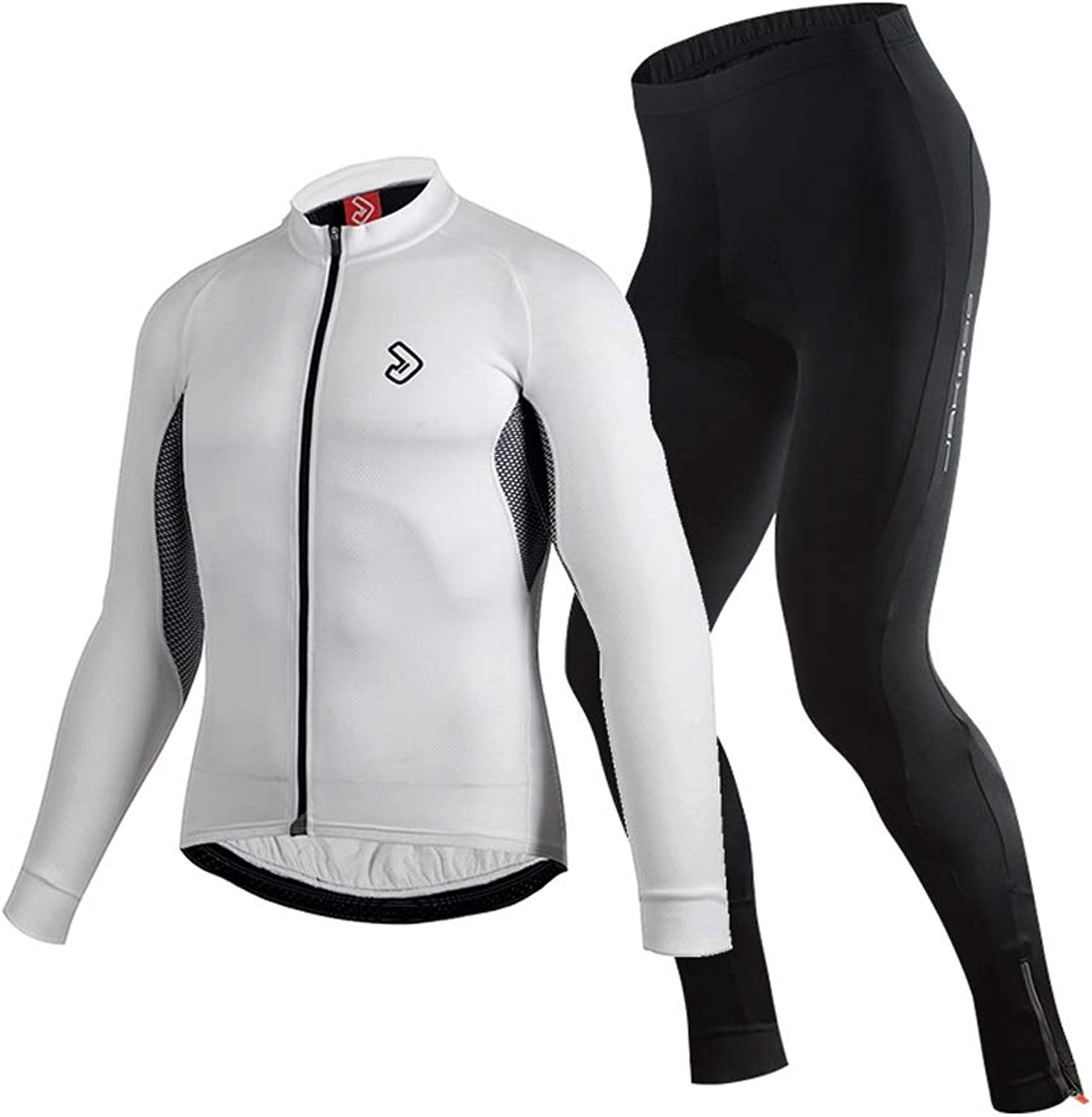LIUX Cycling Suit Spring and Summer LongSleeved Jersey Suit 3D Stereo Version Type MoistureAbsorbing Breathable Soft Lightweight Men and Women Breathable Wicking Mountain Road Bike