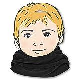 Sterntaler Unisex-Baby Allrounder Schal, Schwarz, M