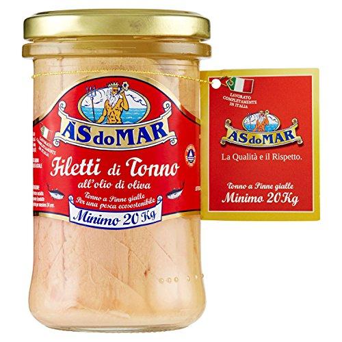 Asdomar Filetti di tonno all'olio di oliva - 250 gr