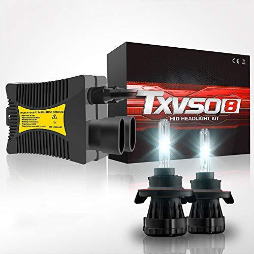 ZIHAOE H13 35W 55W AC Xenon Brenner, Xenon HID Conversion Kit Scheinwerfer 12V, Für Auto Fahrzeug Ersatz Halogenlampe Set, 5000K /6000K /8000K /10000K /12000K (2 Stücke),55W-8000K