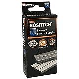 Stanley Bostitch Premium Standard Staples, 1/4' (6mm), High Carbon Steel, Chisel Point, 5,000 Per Box (SBS191/4CPR)