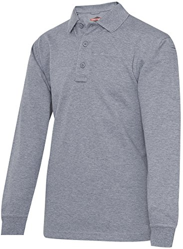 Tru-Spec Polo manches longues pour homme série 24-7 gris Taille M