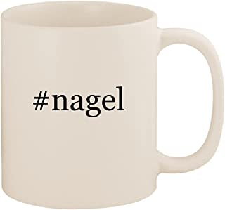 #nagel - 11oz Ceramic Coffee Mug Cup, White