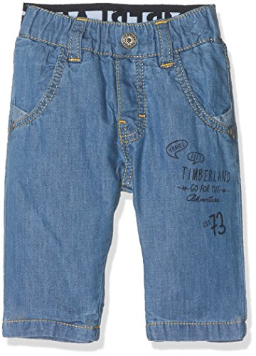 Timberland Pantalon Denim, Bleu (Bleach), 9-12 Mois (Taille Fabricant: 09M) Bébé garçon