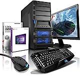 shinobee Gaming-PC Komplett-PC AMD 8-Kern 8x4.20 GHz, GeForce GTX1060, 22' LED, Tastatur+Maus, 16GB DDR3, 2TB, Windows10, Gamer PC, Gaming Computer, Desktop PC #5154