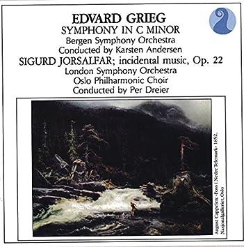 Grieg: Symphony in C minor / Sigurd Jorsalfar, Op. 22 - Incidental music