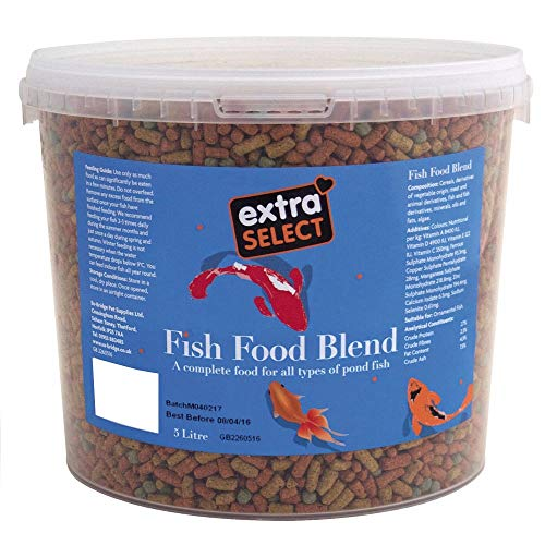 Extra Select Complete Fish Food Blend Tub, 5 Litre