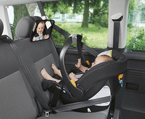 Chicco - Espejo Retrovisor para el asiento trasero del niño para contacto visual, color negro