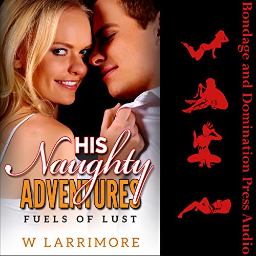 His Naughty Adventures: Fuels of Lust audiobook cover art