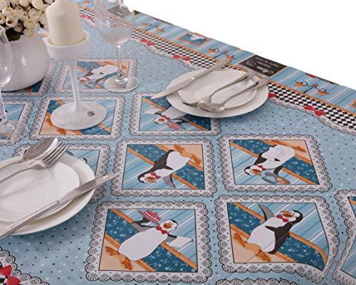 VINYLLA - Mantel para Mesa (PVC, fácil Limpieza), diseño