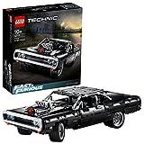 LEGO 42111 Technic La Dodge Charger de Dom, Maquette Voiture de Course à Construire Fast and Furious, Idée Cadeau